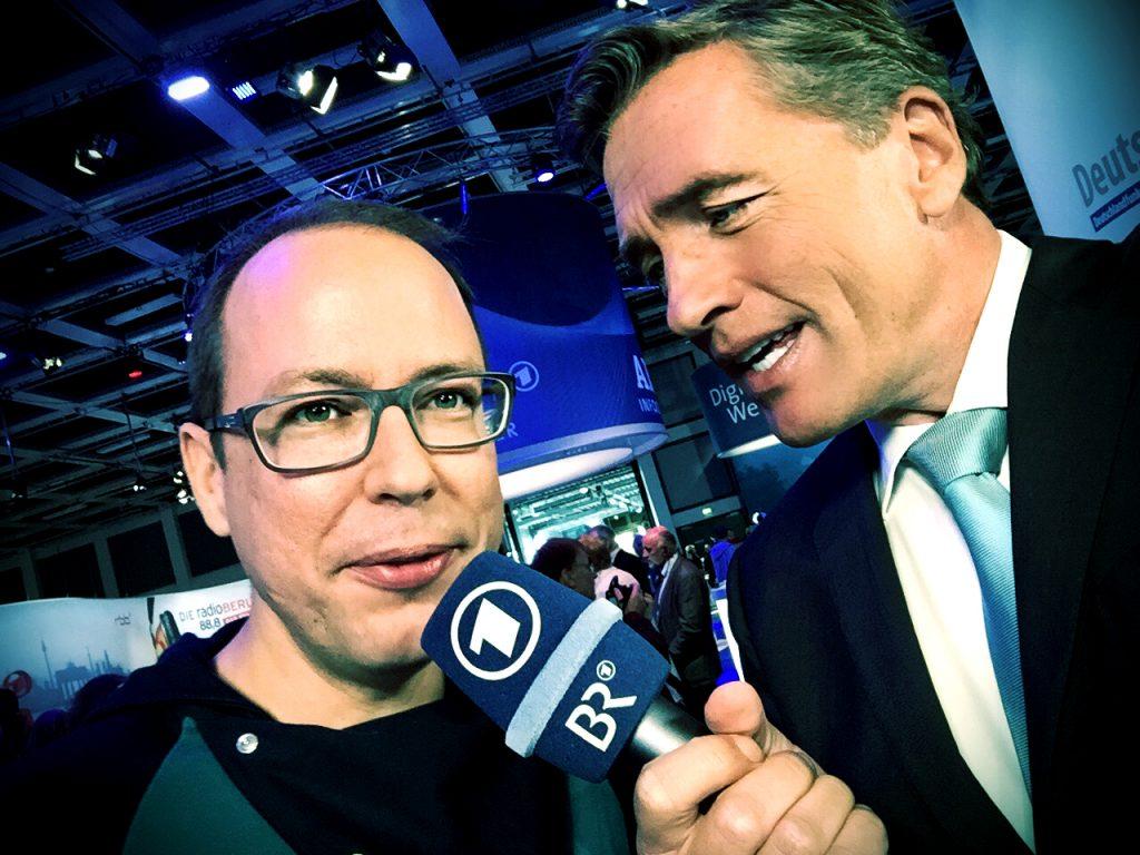 Studiogast Markus Beckedahl von netzpolitik.org live im Mittagsmagazin!