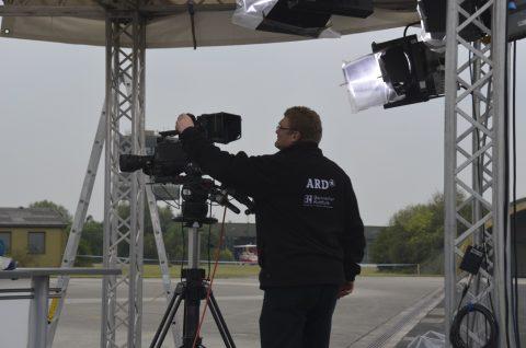 Erste Kameratests: Alle Redner und Zuschauer gut im Bild zu sehen?