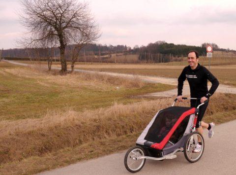 Kinderleicht: Laufen - und dabei fahren - es geht!