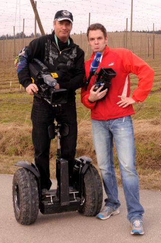Kamera-Wettschießen: Roller-Tom und Regisseur Christian streiten um die besten Bilder - und davon gibt es viele heute!