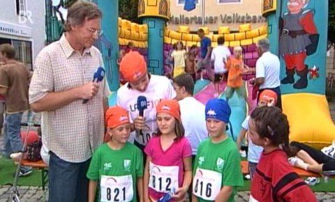 """Halb so wild: Sabine """"betreut"""" heute die Kindergruppe - sie muss keine zehn Kilometer laufen ;-)"""