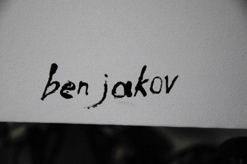 Sein Name auf der Leindwand ist stets... Ben Jakov.