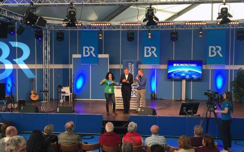 Bühne frei: Irina und Jürgen nehmen Stefan in die Mangel...