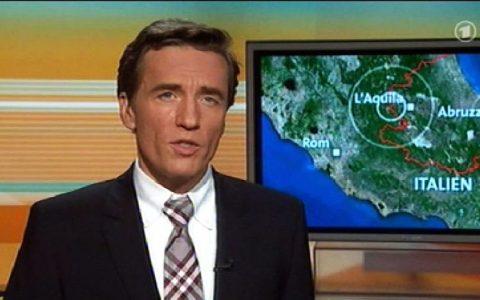 ARD Brennpunkt zum Erdbeben in Norditalien.