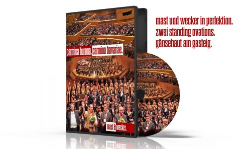 Das ganze Konzert gibt es natürlich auch auf CD und DVD!