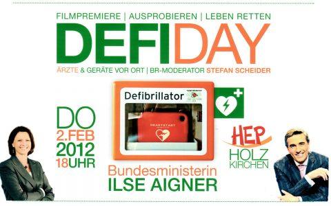 Das Plakat zum Defiday.