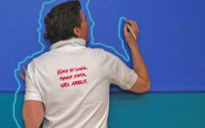 Malen, krizzeln, pinseln: Eine über 50 Jahre junge Leidenschaft!
