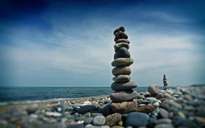 Herb, steinig, aber immer liebenswert: Ostsee-Strand bei Heiligendamm. Die Sinne tanzen...