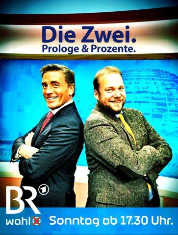 ...und die beiden Köpfe der Sendung: Scheider & Bachmann!
