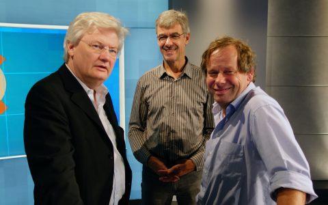 Chefredakteur Sigmund Gottlieb fiebert auch schon auf die Bundestagswahl hin.