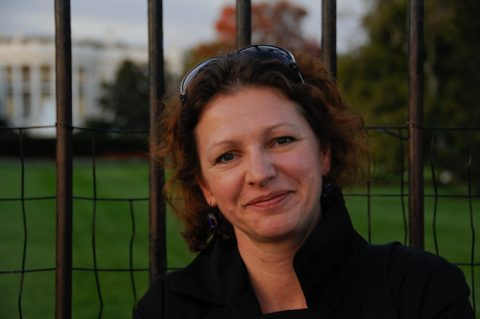 Und die Dame des Hauses: Unsere Regisseurin und Producerin Anja.