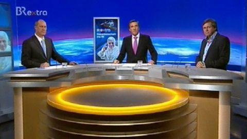 Volles Studio: Die Gäste - der Korrespondent Mandlik und der Astronaut Walter!