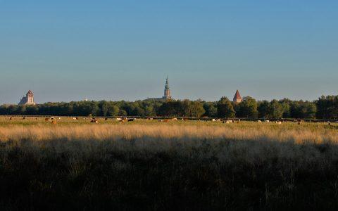 """Die """"Skyline"""" von Greifswald: Verwunschener Ort mit Zeit-Stillstand"""