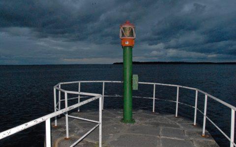 Blick hinaus in die Ostsee: Die Küstenluft macht uns wach!