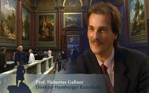 Er erklärt wie kein Zweiter: Kunsthalle-Direktor Hubertus Gaßner bringt uns Caspar nahe!