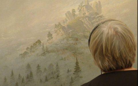 Versinken in Landschaften und Öl auf Leinwand.