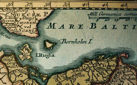 Das Casparland auf einer 300 Jahre alten Landkarte!