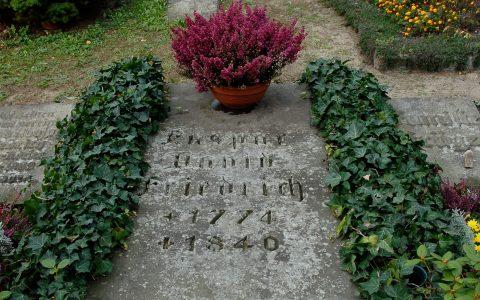Das Grab von Caspar!