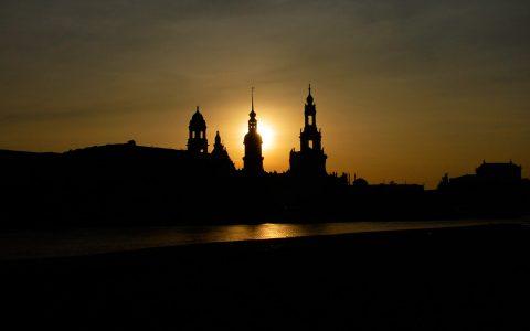 Die Romantik läuft zu Hochform auf: Dresden im Abendlicht!