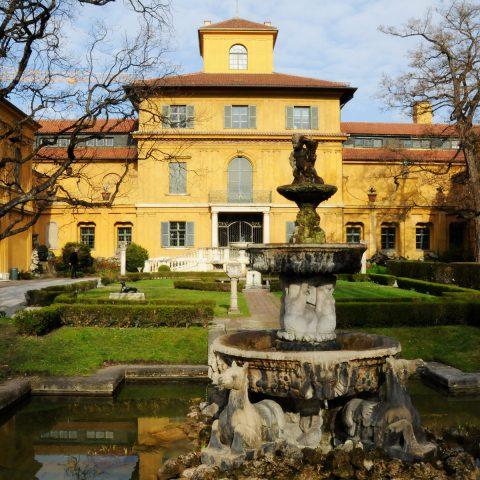 Schmucke Stadtvilla: Das Lenbachhaus München vor dem Umbau!