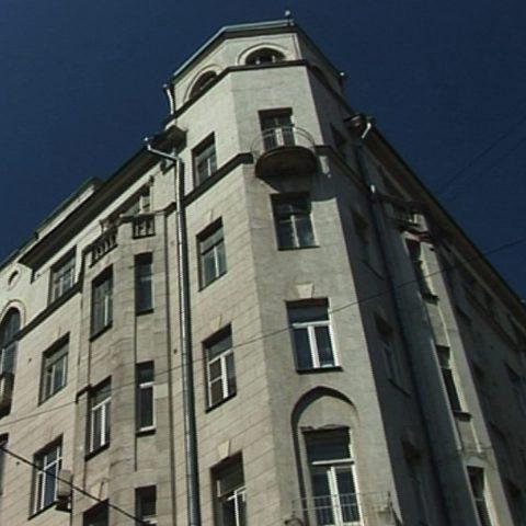 Das Kandinsky-Haus in Moskau.