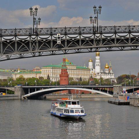 Traumwetter und Traumtag in Moskau.