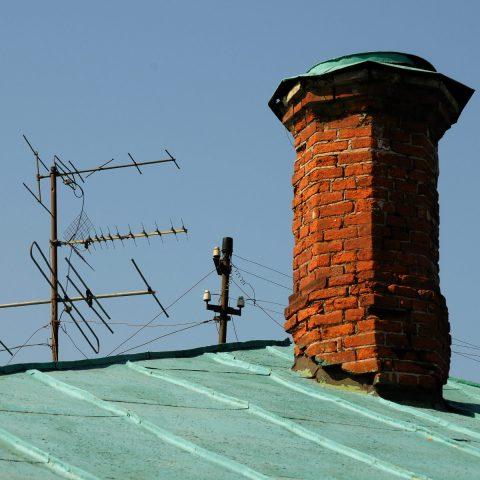 Dach-Stilleben.