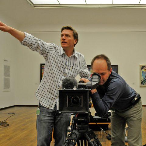 Scheider & Nöbauer lassen die Kamera laufen...