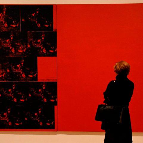 Katharina und Stefan tanken aber auch andere Kunst - im Moma natürlich!