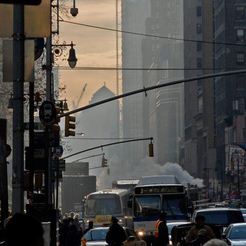 Wie immer brummiges Straßenleben in New York!