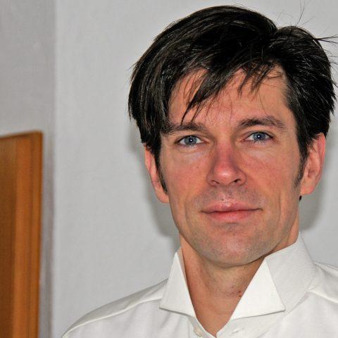 Schauspieler Stefan Riehl - noch ohne Bart & Brille.