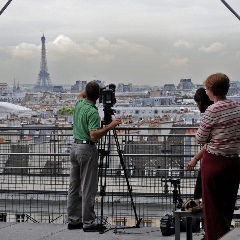 Traumblick auf Paris: Vom Dach des Centre Pompidou