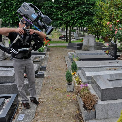 Letzte Ruhestätte: Wir nähern uns Kandinskys Grab