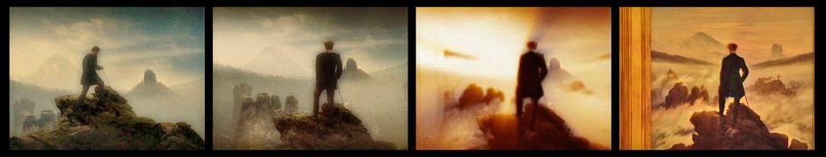 Der Film beginnt mit einer Wanderung...