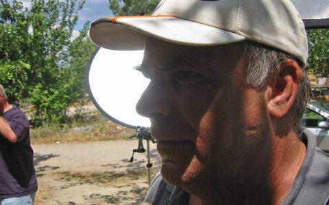 Crewchef Michelson wacht über jede Szene.