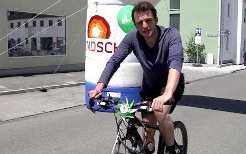 Dahoam-Star Tommy Schwimmer muss heute passen: Ein verletzter Knöchel zwingt ihn aufs Radl!
