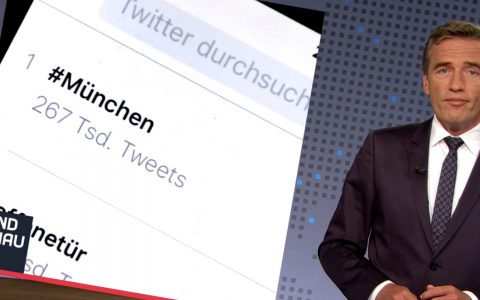 Die Ereignisse von München liegen bei Twitter längst an erster Stelle!