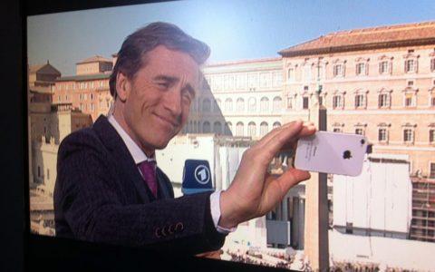 Wenn hier nicht ein Selfie, wo dann...;-)
