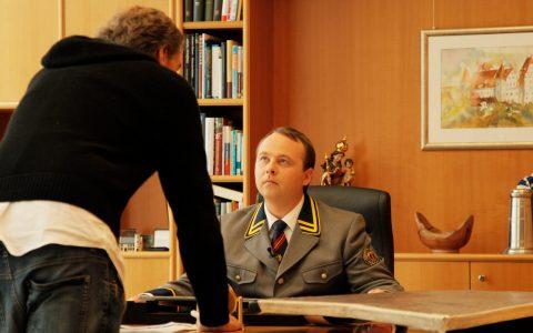 """Letzte Anweisung für den heimlichen """"Amtschef""""..."""
