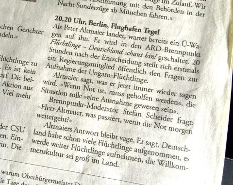 Ein kleiner Ritterschlag für Scheider in der ZEIT.