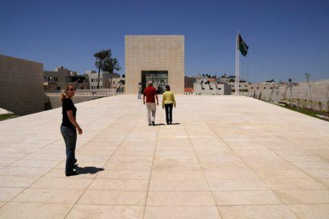 Grabmal: Die letzte Ruhestätte von Jassir Arafat nach seinem Tod 2004.
