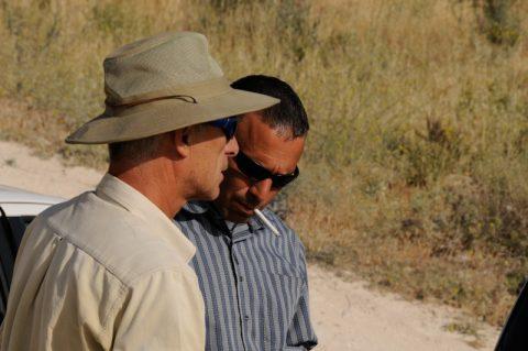 Rauchzeichen: Mohammed führt uns zu einem atemberaubenden Aussichtspunkt für die nächste Sendung!