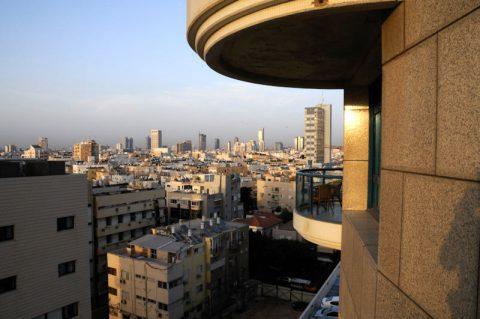 Dieses Licht! Warme Abendstimmung in Tel Aviv.