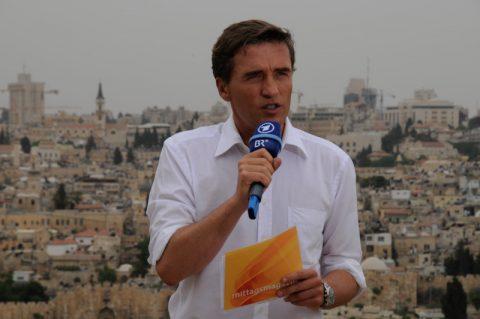 Das wars aus Jerusalem! Scheider beendet die Viertelstunde aus der heiligen Stadt.