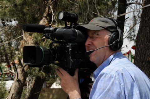 """Record: Unsere Kameraleute fangen Bilder vom """"Tag der Vetreibung"""" ein."""