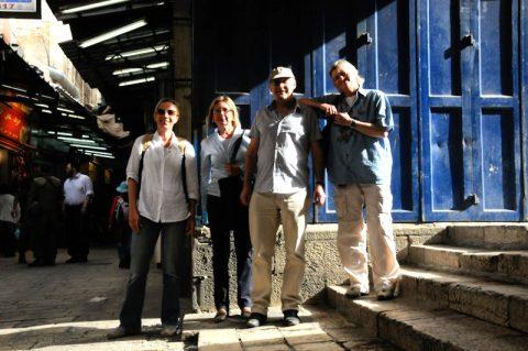 Untergrund: Das Mima-Team in den Marktgassen der Altstadt.