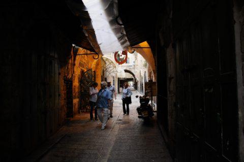 Labyrinth: Stundenlanges Irren durch die Gassen von Jerusalem.