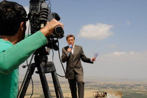 Verabschiedung: Letzte Moderation aus Israel und ein Good-Bye von den Golanhöhen. Die Sendung ist zu Ende.