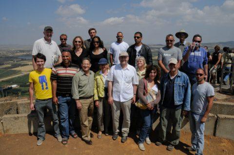 Klassenfoto: Das ganze Team versammelt sich noch einmal.
