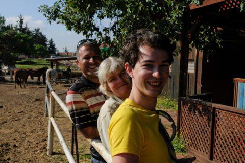Ausklang: Romantisches Abschlussessen auf einer Pferderanch am Fuße der Golanhöhen.